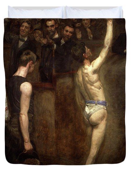 Salutat, 1898 Duvet Cover