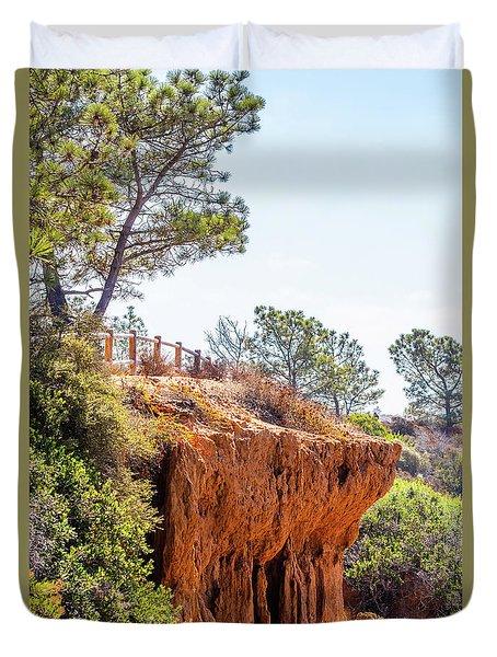 San Diego Landscape Duvet Cover