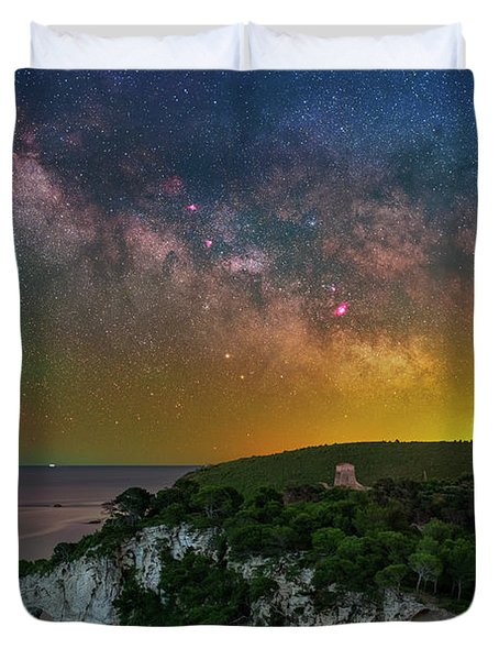 San Felice Arch And Tower Duvet Cover