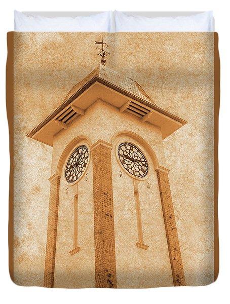 Sandgate Town Hall Duvet Cover