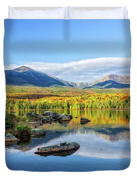 Sandy Stream Pond Baxter Sp Maine Duvet Cover