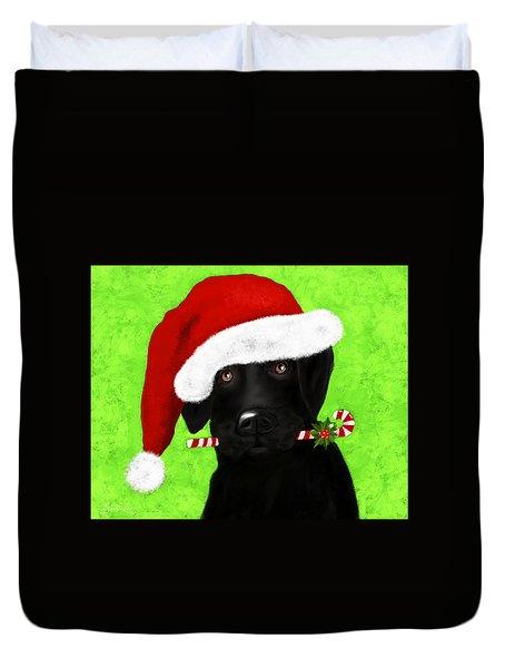 Santa's Little Helper Duvet Cover