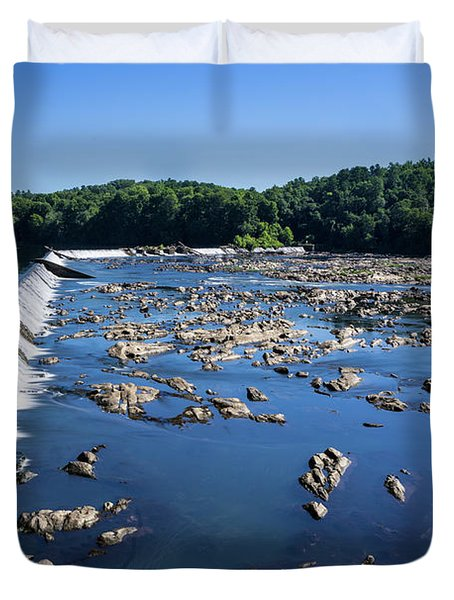 Savannah River Rapids - Augusta Ga 2 Duvet Cover