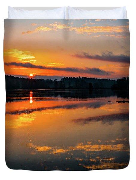Savannah River Sunrise - Augusta Ga 2 Duvet Cover