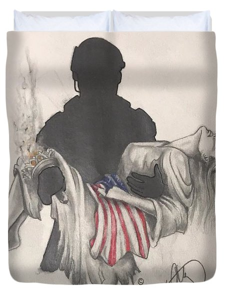 Saving Liberty Duvet Cover