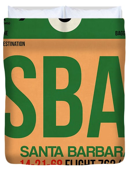 Sba Santa Barbara Luggage Tag I Duvet Cover