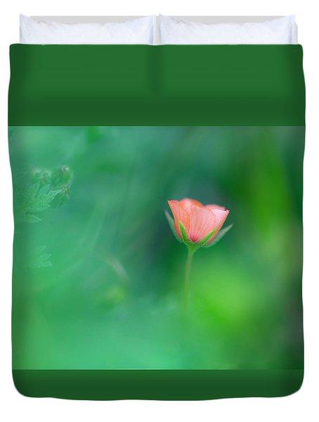 Scarlet Pimpernel Duvet Cover