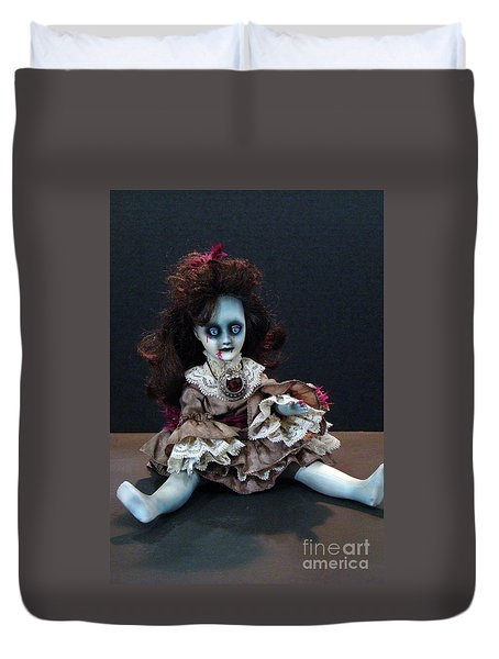 Scary Mary Duvet Cover