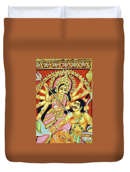 Scenes From The Ramayana Duvet Cover