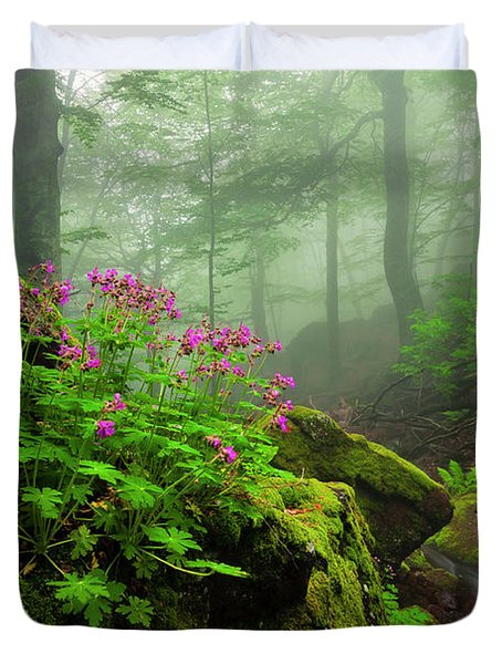 Scent Of Spring Duvet Cover