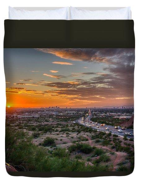 Scottsdale Sunset Duvet Cover