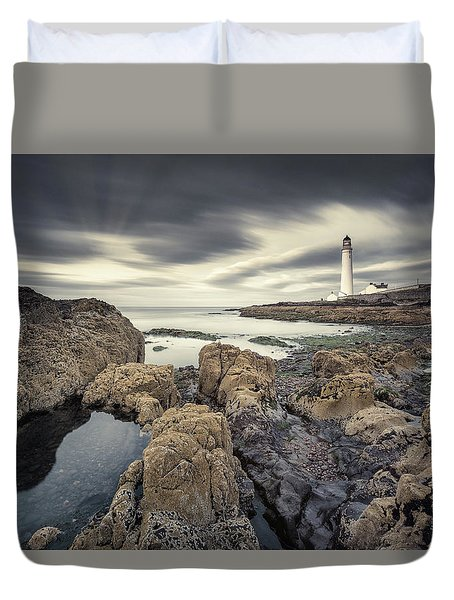 Scurdie Ness 1 Duvet Cover