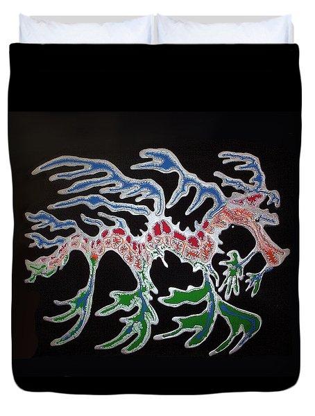 Sea Dragon Duvet Cover