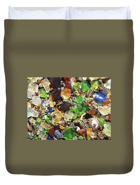 Sea Glass Duvet Cover
