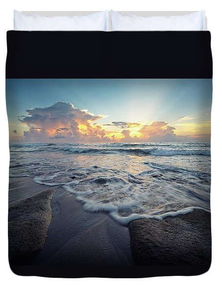 Seascape View Duvet Cover