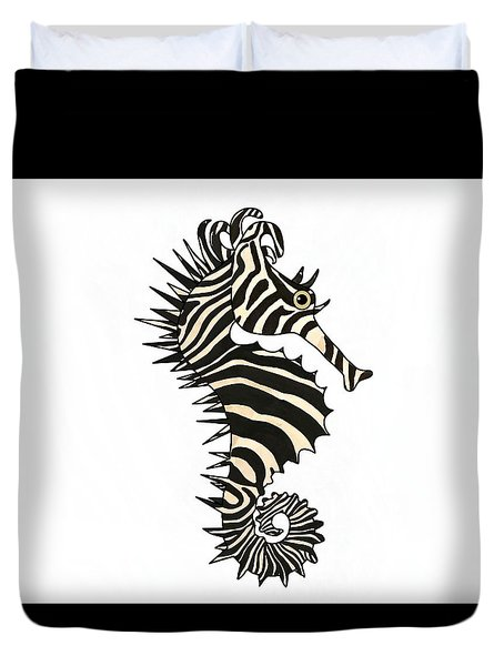 Seazebra Digital1  Duvet Cover