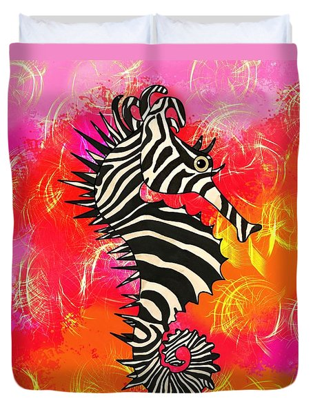 Seazebra Digital10 Duvet Cover