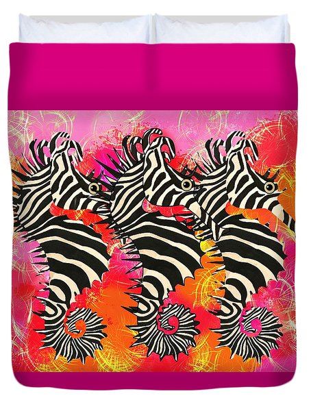 Seazebra Digital11 Duvet Cover