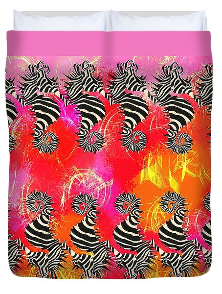 Seazebra Digital13 Duvet Cover