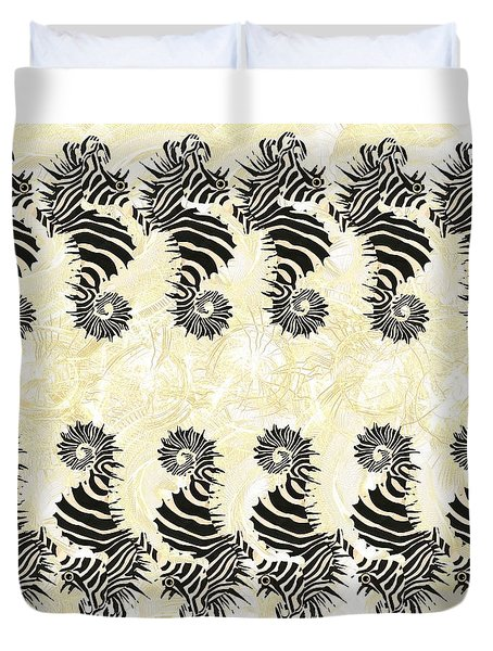 Seazebra Digital14 Duvet Cover