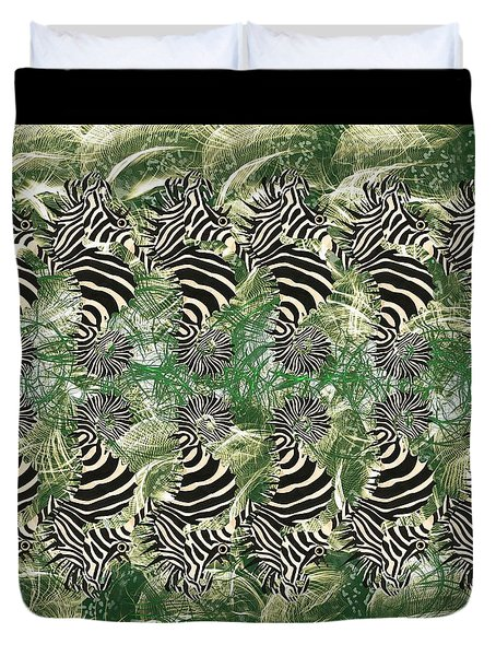 Seazebra Digital16 Duvet Cover