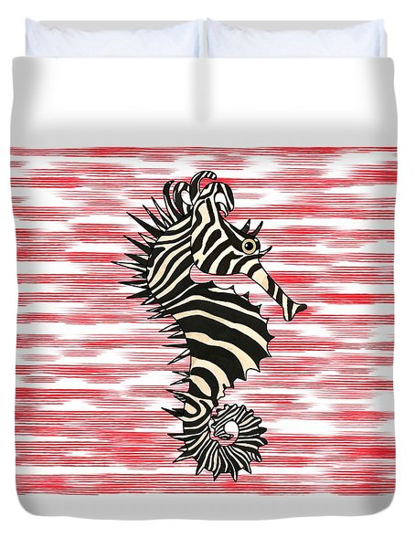 Seazebra Digital8 Duvet Cover