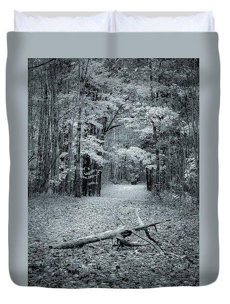 Selenium Trail  Duvet Cover