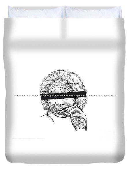 Seems. Selves Portrait 3. Duvet Cover