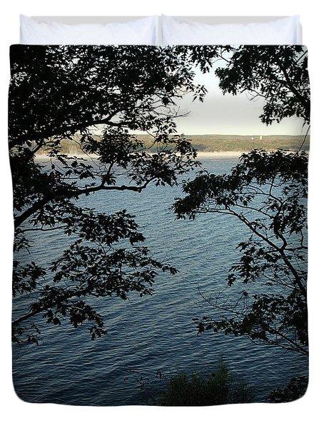 Seneca Lake Duvet Cover