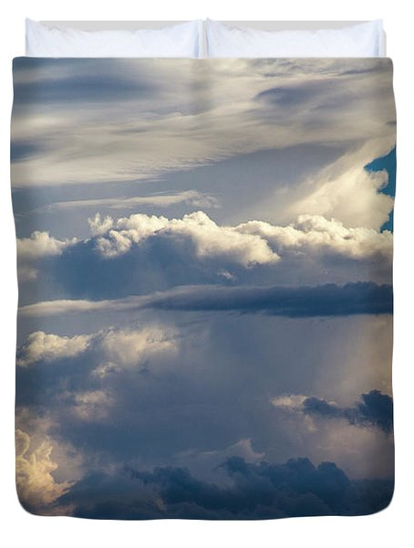 September Storm Chasing 015 Duvet Cover
