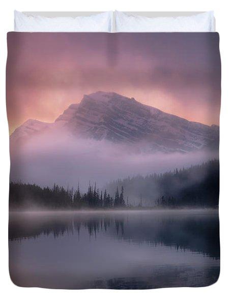 September Sunrise Banff Duvet Cover