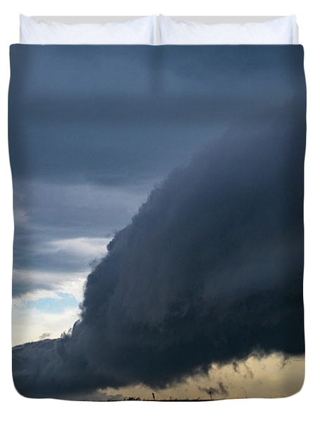 September Thunderstorms 003 Duvet Cover
