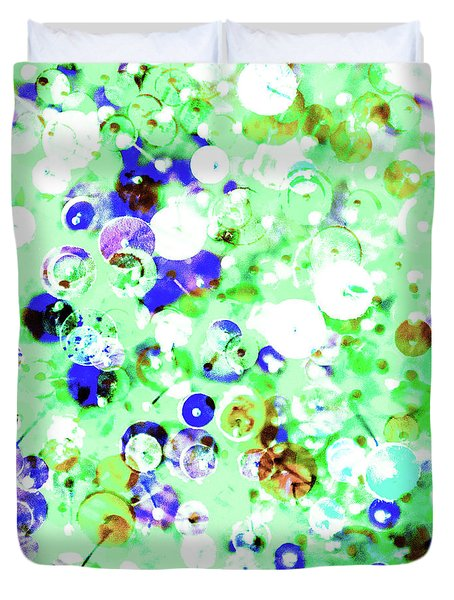 Sequins And Pins 1 Duvet Cover