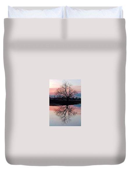 Serenity At Sunset Duvet Cover