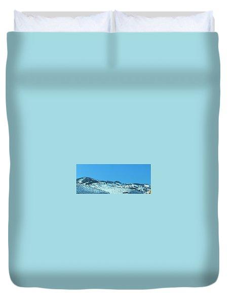 Serria Nevad Mountains Duvet Cover