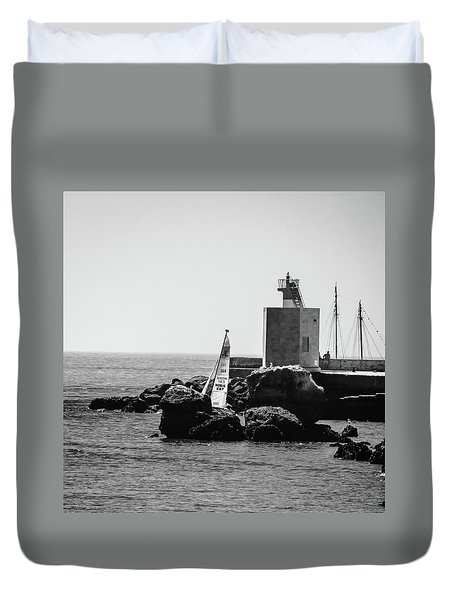 Setting Sail Duvet Cover