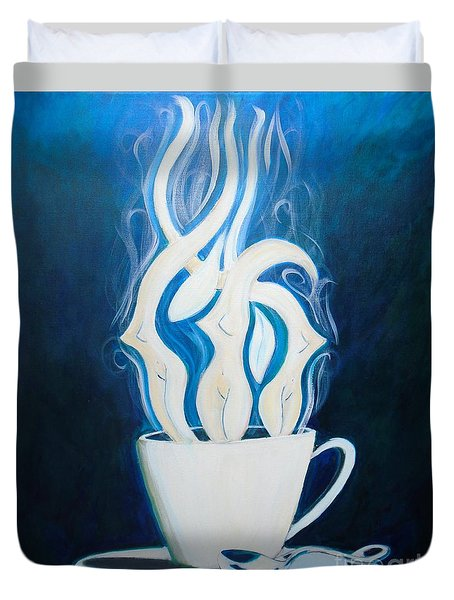 Sexy Java Duvet Cover