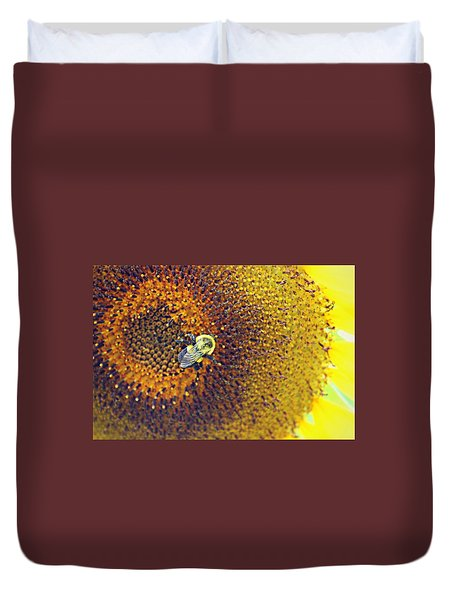 Duvet Cover featuring the photograph Shades Of Sun by Candice Trimble