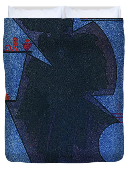Shadow, 1931 Duvet Cover