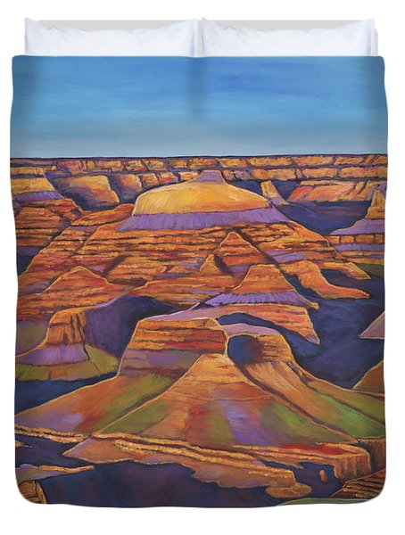 Shadows And Breezes Duvet Cover