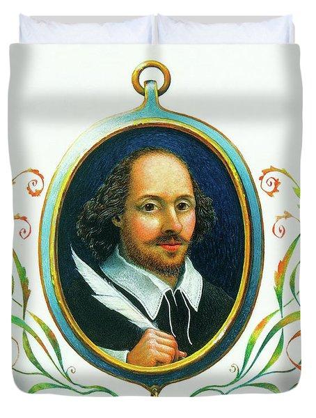 Shakespeare Duvet Cover