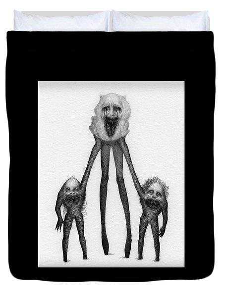Shambling Flesh Seeker Nurse - Artwork Duvet Cover