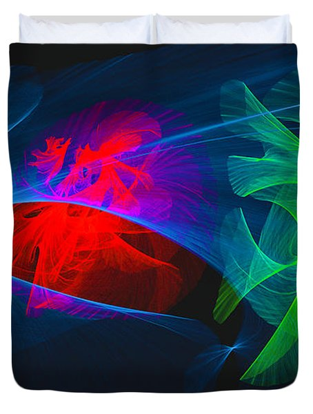 Shapes And Colours #i1 Duvet Cover