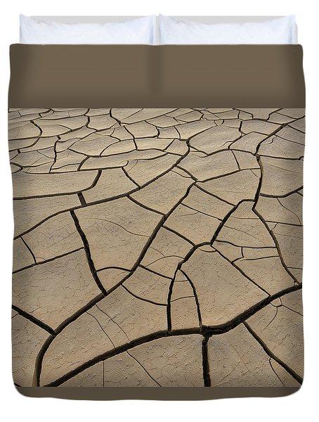 Shattered Grounds Duvet Cover