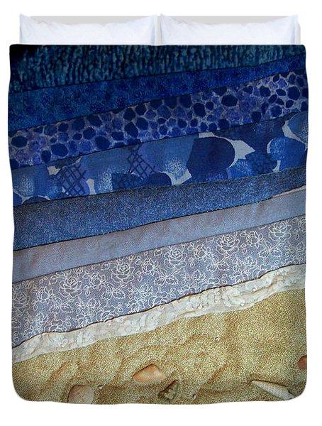 She Sews Seashells On The Seashore Duvet Cover