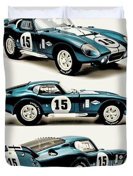 Shelby Cobra Daytona Duvet Cover