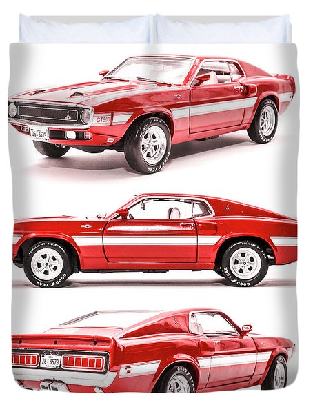 Shelby Gt500  Duvet Cover