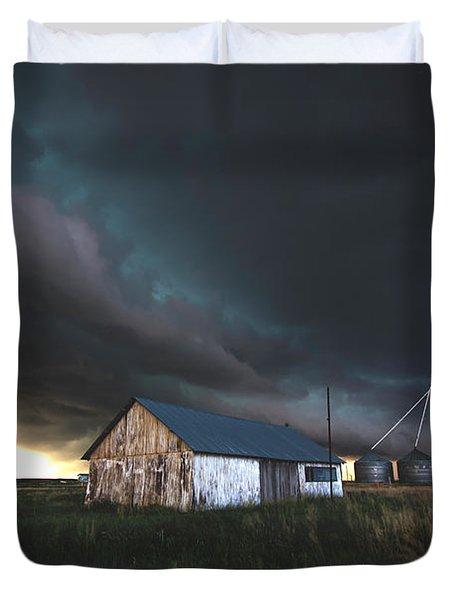 Shelf Over Cheyenne Wells Duvet Cover