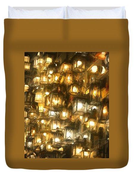 Shopping For Lighting Duvet Cover