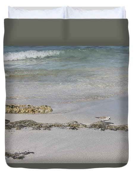 Shorebird Duvet Cover